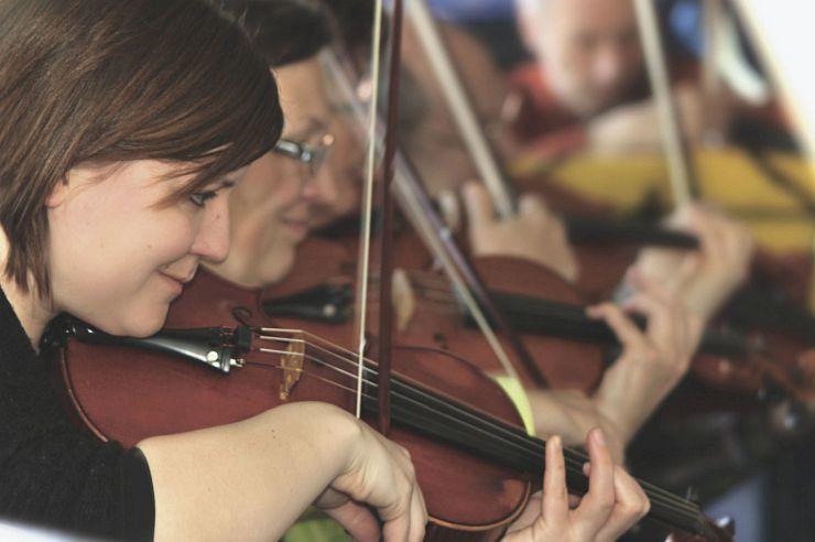 Musizieren in der Jugendherberge Windeck-Rosbach