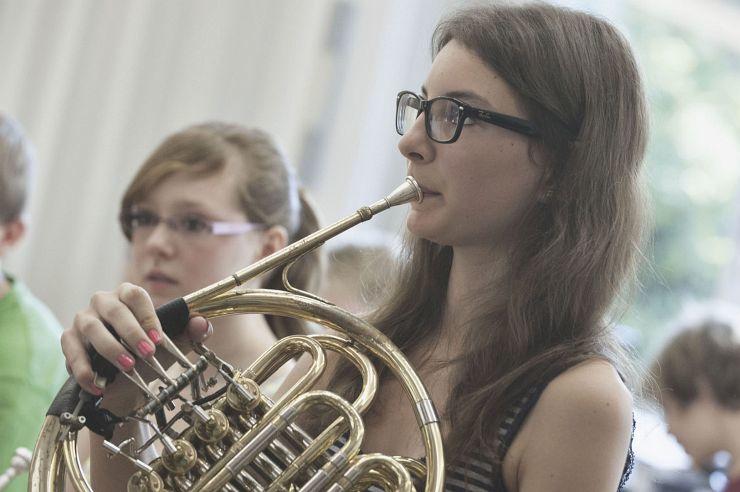Musikprobe in der Jugendherberge Windeck-Rosbach