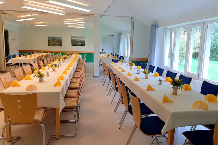 Seminarraum in der Jugendherberge Kappeln