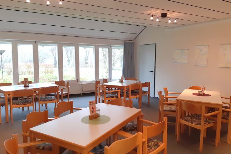 Seminarraum 4 der Jugendherberge Kappeln