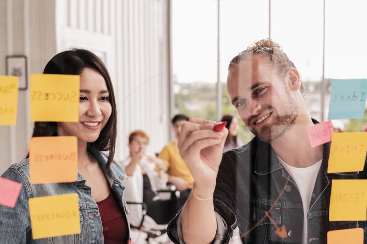 Seminarequipment kann nach Bedarf bereitgestellt werden
