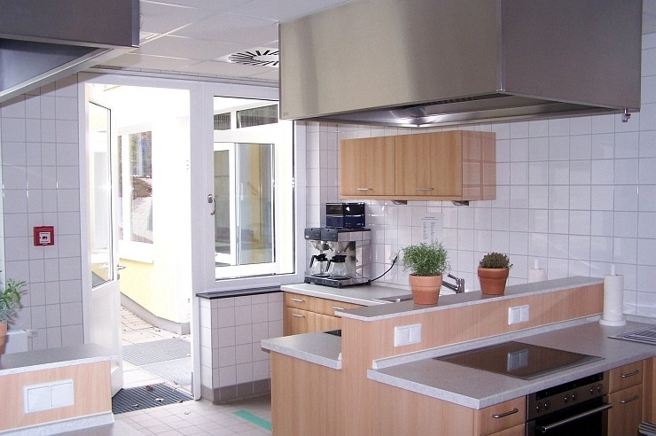 Programmküche der Jugendherberge Bad Honnef