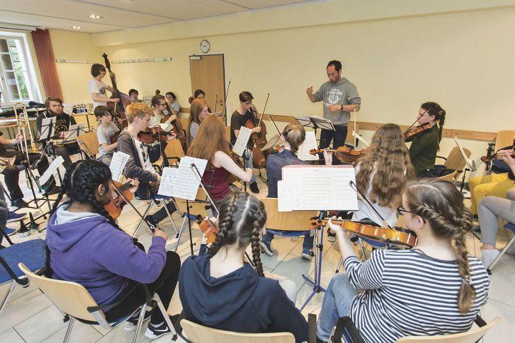 Musikproben in der Jugendherberge Bad Honnef