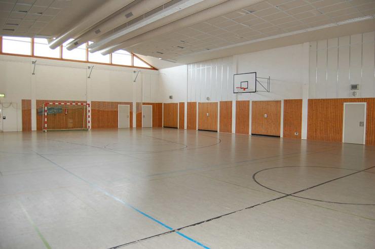Sporthalle der Jugendherberge Scharbeutz