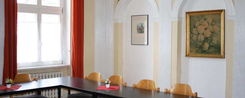 Seminarraum der Jugendherberge Erfurt