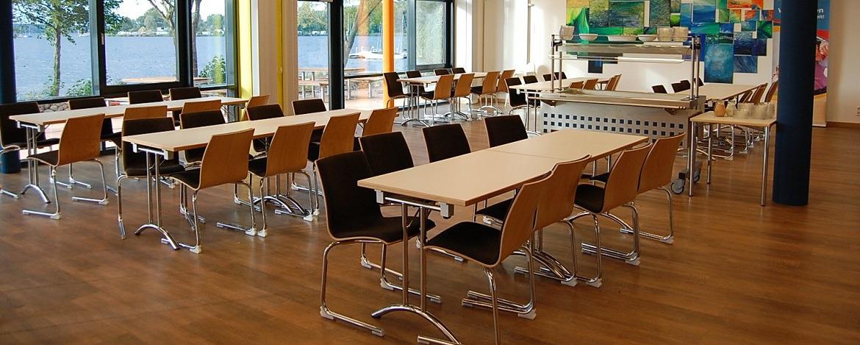 Tagungs- und Speiseraum der Jugendherberge