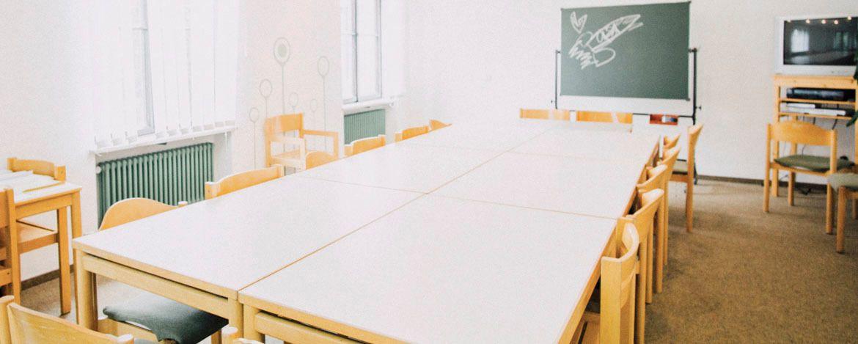 Seminarraum in der Jugendherberge Hof