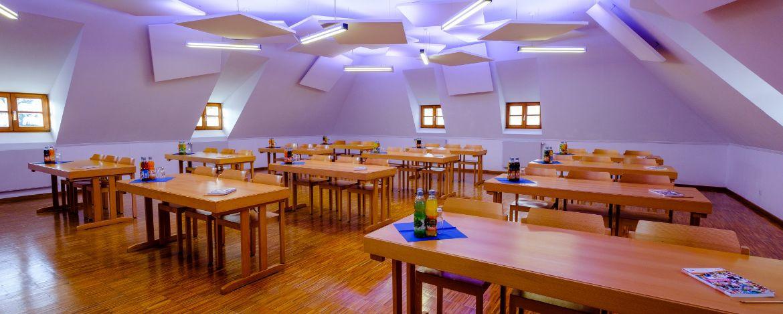 Seminargruppe in der Jugendherberge Waldhäuser