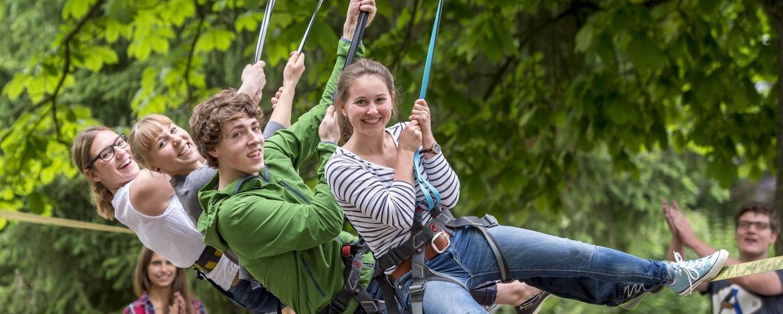 Teambuilding-Programm Jugendherberge Altenahr