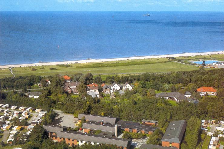 Lage der Jugendherberge Cuxhaven am Meer