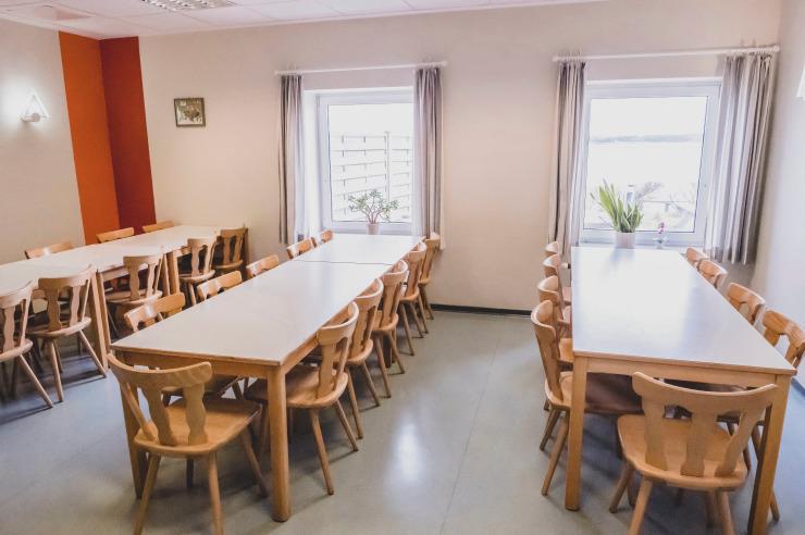Tagungsraum der Jugendherberge Borgwedel