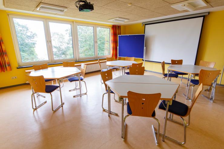 Seminarraum 6 der Jugendherberge Eckernförde