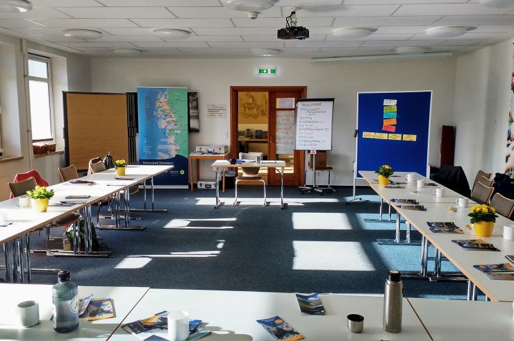 Seminarraum 1 der Jugendherberge