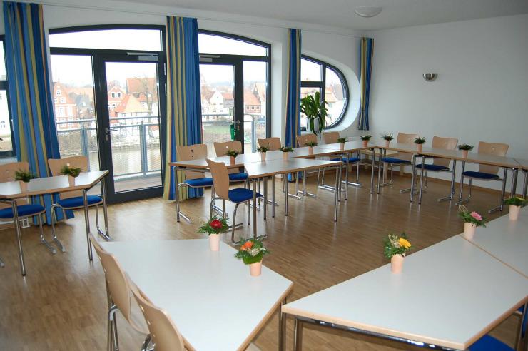 Seminarraum der Jugendherberge Glückstadt