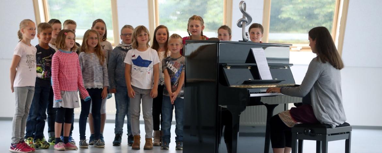 Musikgruppe in der Jugendherberge Heide