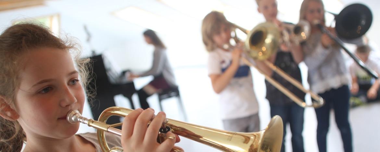 Musikproben in der Jugendherberge Heide