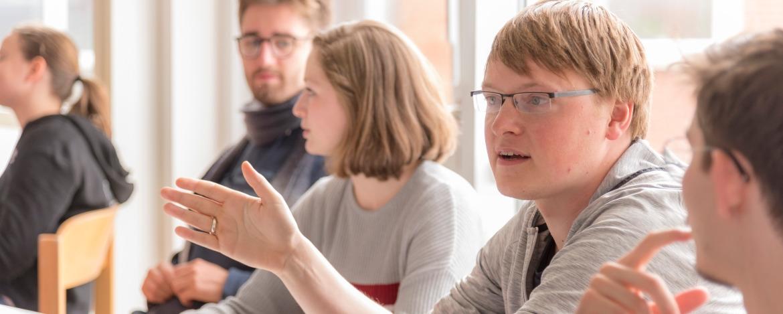 Seminarteilnehmer der Jugendherberge Helgoland