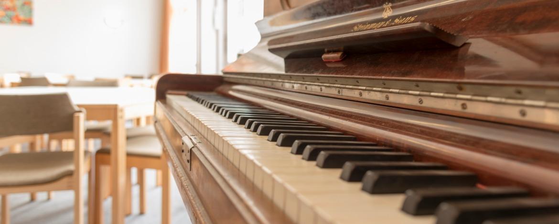 Klavier für Musikgruppen