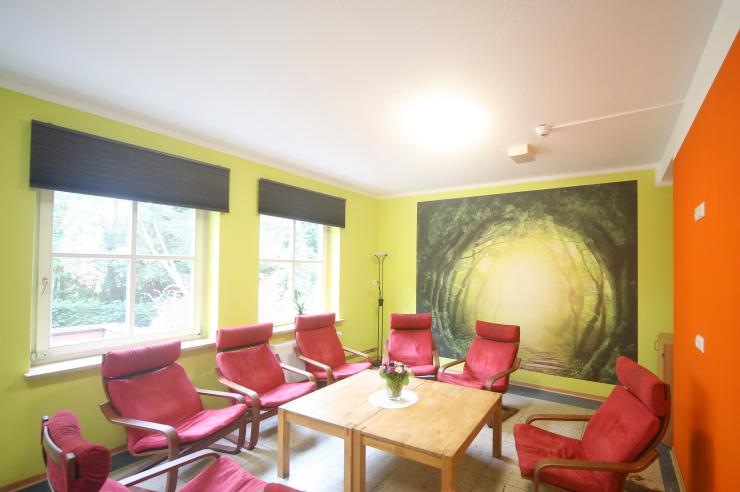 Kleiner Clubraum für Besprechungen
