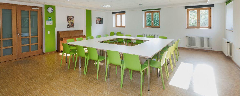 Seminarraum in der Jugendherberge Wunsiedel
