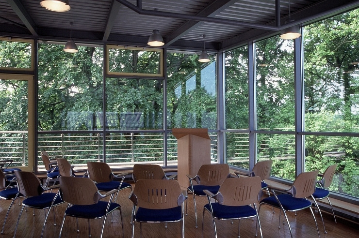 Seminarraum in der Jugendherberge Aachen
