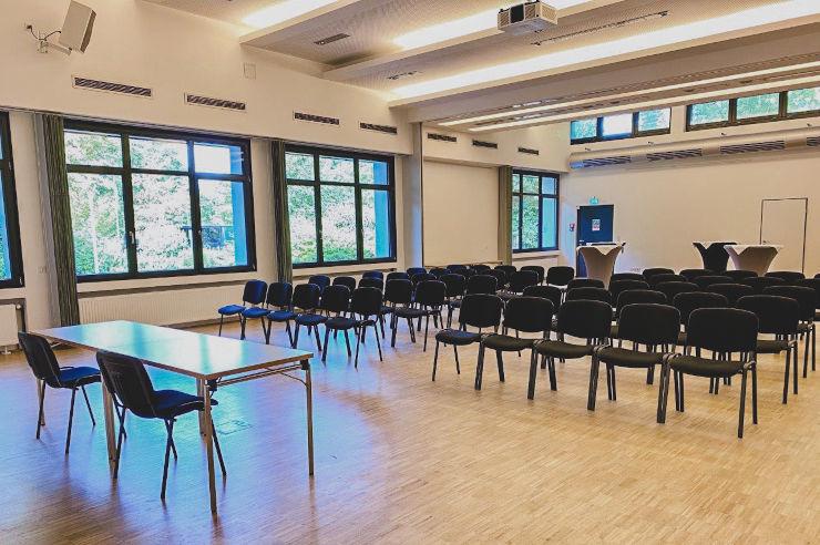 Tagungs- und Seminarraum der Jugendherberge Köln-Riehl