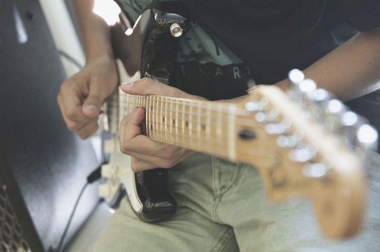 Musikprobe in der Jugendherberge Wiehl