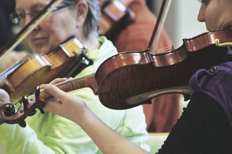 Chor in der Jugendherberge Hellenthal