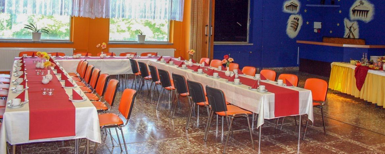 Raum für Veranstaltungen, Seminare, Tagungen und Proben