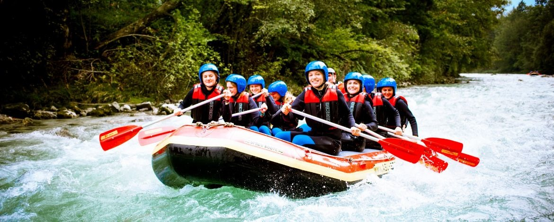 Rafting im Team