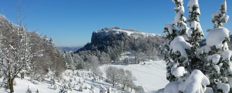 Lochenstein im Winter