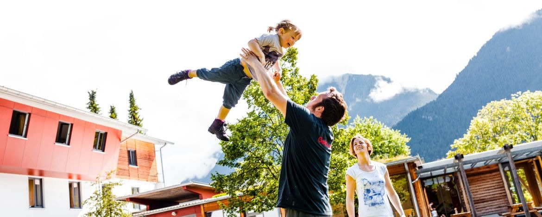 Familienurlaub in den Alpen