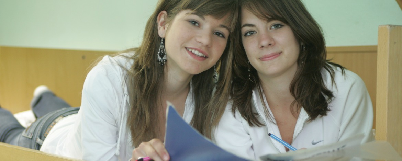 Mädchen beim Englisch lernen
