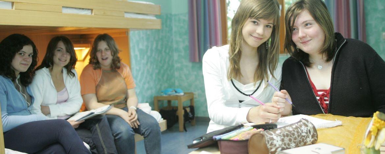 Mädchen im Zimmer