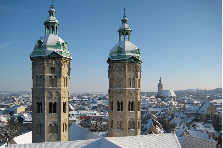 Naumburg im Winter