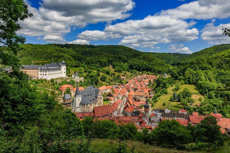 Schloss und Europastadt Stolberg