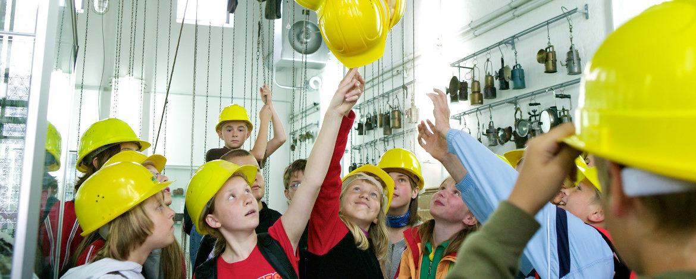 Auf Schicht in die Energiefabrik