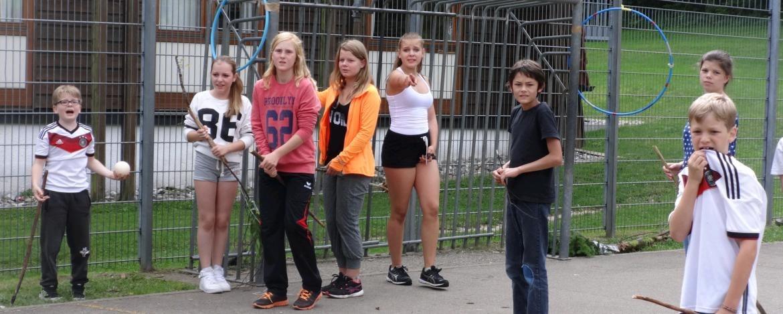 Spiele in der Jugendherberge Erpfingen