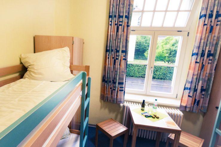 Zimmer in der Jugendherberge Bad Hersfeld