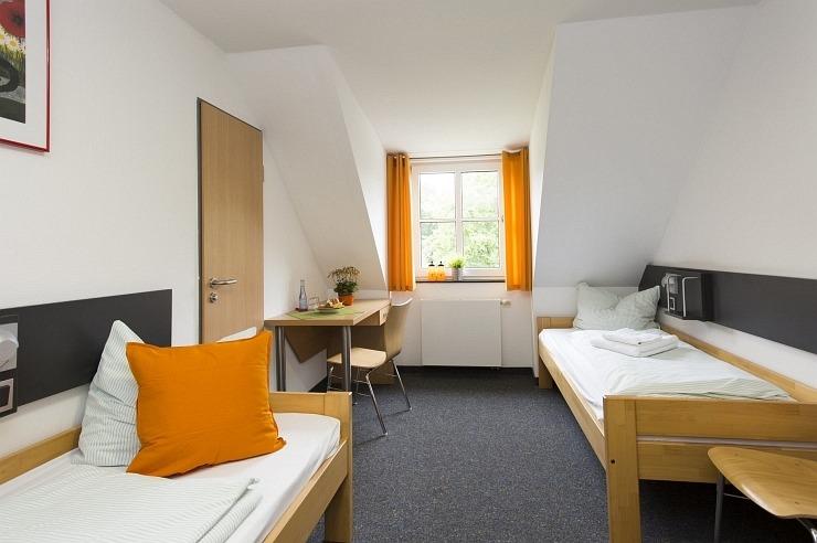 Zweibettzimmer der Jugendherberge Bad Honnef