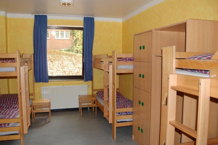 Zimmer der Jugendherberge Bad Oldesloe