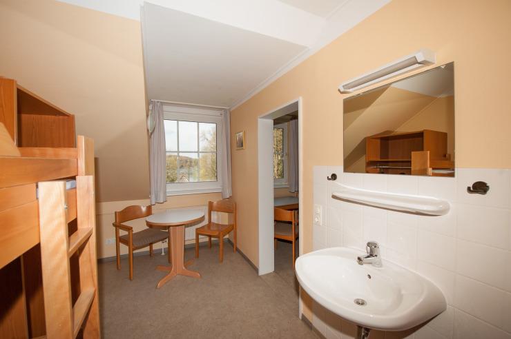 Mehrbettzimmer der Jugendherberge Bad Segeberg