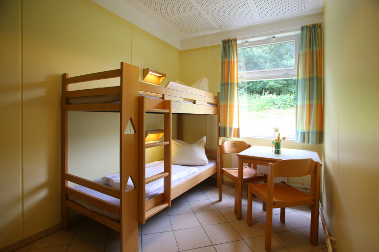Zweibettzimmer Jugendherberge Borgwedel