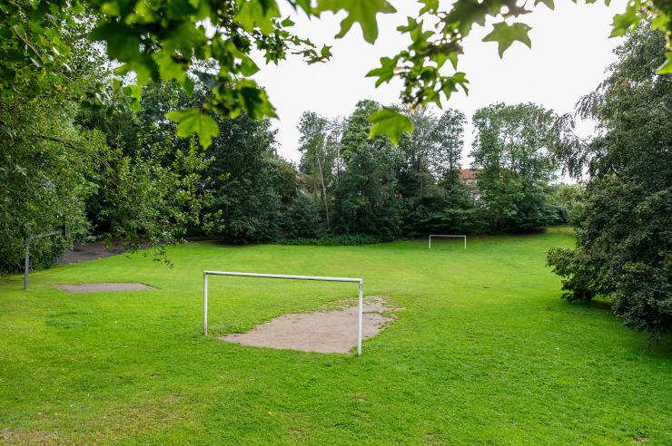 Fussballplatz der Jugendherberge Eckernförde