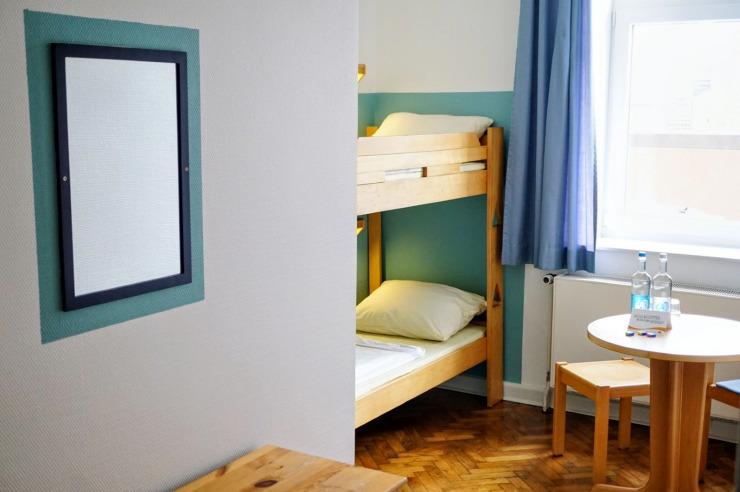 Mehrbettzimmer Jugendherberge Hörnum