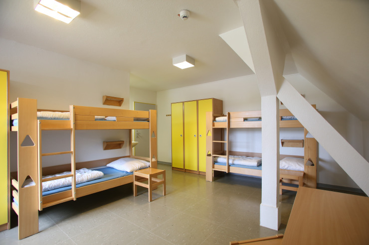 Mehrbettzimmer der Jugendherberge List