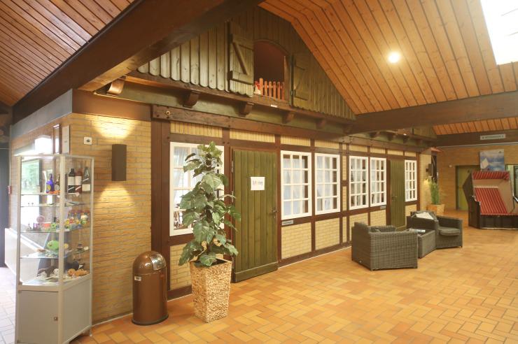 Innenhalle der Jugendherberge Otterndorf