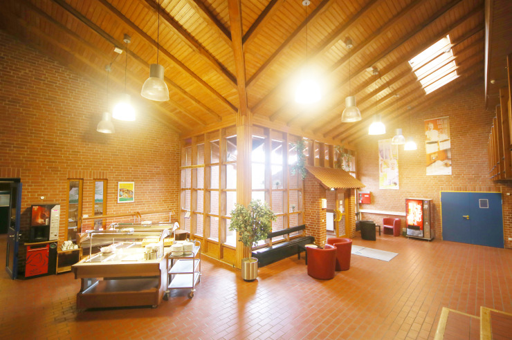 Eingangshalle der Jugendherberge Westensee