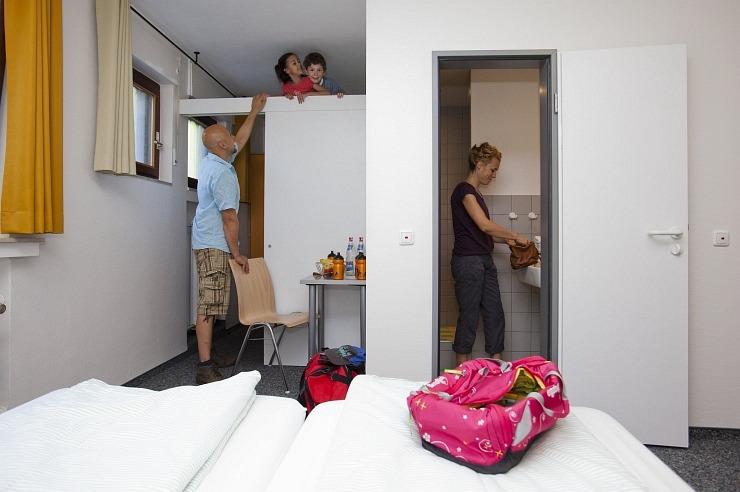 Familienzimmer der Jugendherberge Bad Münstereifel