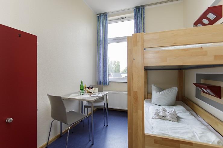 Zweibettzimmer in der Jugendherberge Duisburg Landschaftspark.